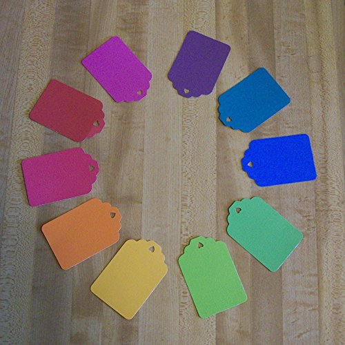 400 Blank Tags For Use As Gift Tags, Labeling, Scrapbooking, Party, Thank You or Price Tags from SandycraftsOnline