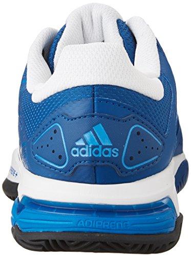 Adidas Barricata Del Club Mens Scarpe Da Tennis Blu / Bianco