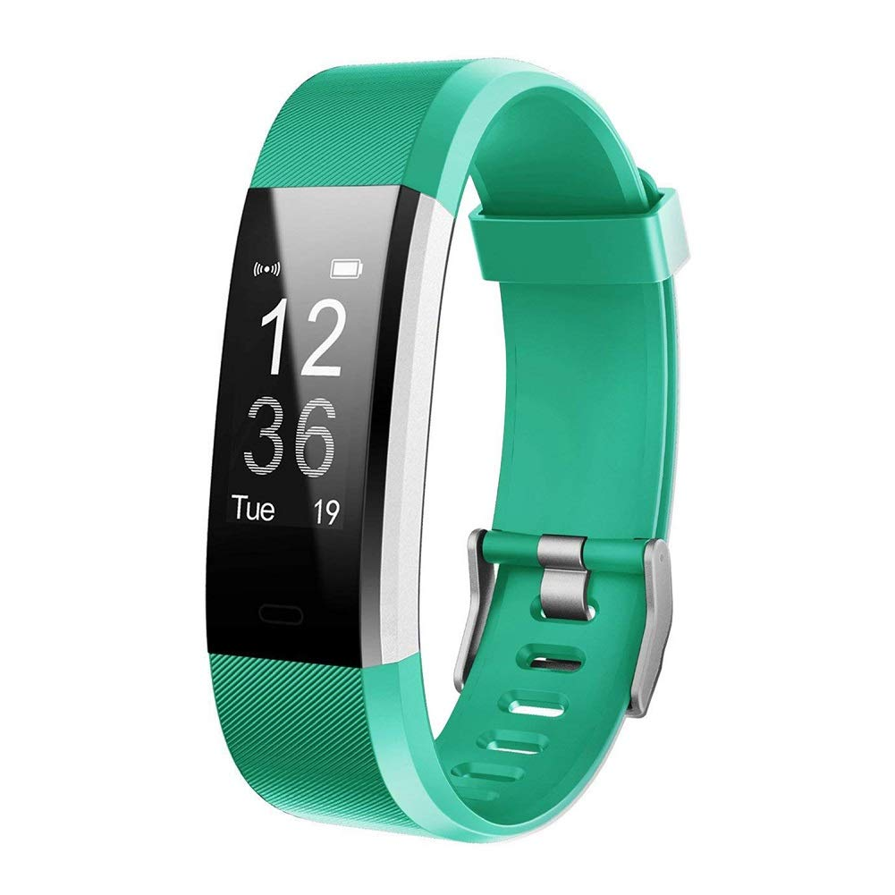Letsfit Fitness Tracker HR, Activity Tracker Watch with Heart Rate Monitor, IP67 Water Resistant Smart Bracelet with…