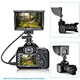 Neewer DC-50 HD Clip-On 5-Inch LCD Monitor Portable Wide View for Canon Nikon Sony