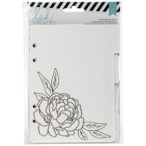 (American Crafts Memory Binder Chipboard Tab Dividers 5