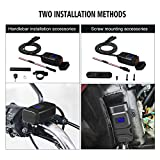 Sae To Usb Charger 12 Volt, Waterproof Motorcycle