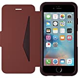 OtterBox Strada sturzsichere Folio Leder Schutzhülle für Apple iPhone 6/6s, burgund-Braun