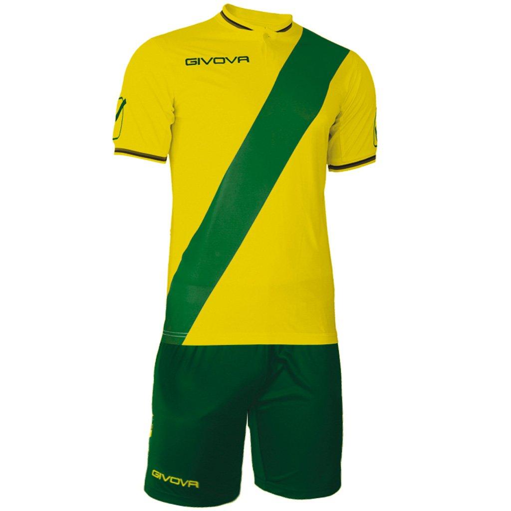 TALLA Large. Givova, kit plate, amarillo/verde, L