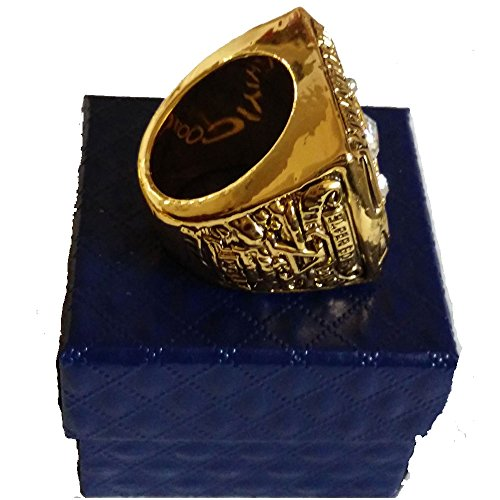 for YIYICOOL fans' collection 1968 New York Lightning team championship rings size 11 by YIYICOOL (Image #1)