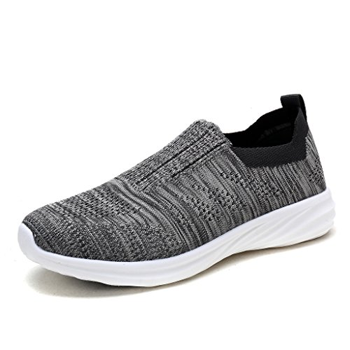 DREAM PAIRS Women's 171114-W Grey Running Shoes Comfort Sneakers Size 10 M US