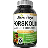 Pure-Forskolin-Extract-for-Weight-Loss-Supplement-60-V-Capsules-1-Powerful-Antioxidant-Maximum-Strength-Belly-Buster-Healthy-Weight-Management-Get-Lean-Trim-For-Men-and-Women-by-Natures-Design