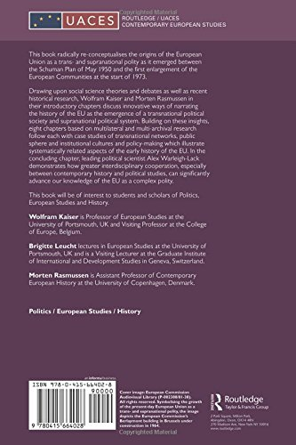 The History of the European Union: Origins of a Trans- and Supranational Polity 1950-72
