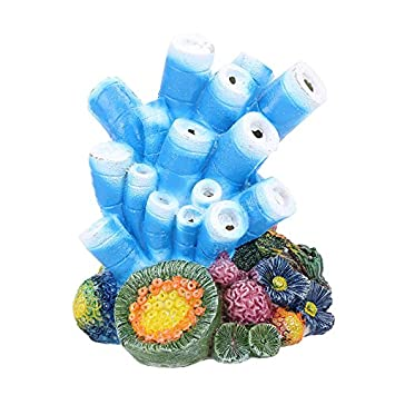 Outtybrave Coral Bomba de Aire decoración, pecera, Resina, Forma de Coral, paisajismo, Adorno de Acuario: Amazon.es: Productos para mascotas