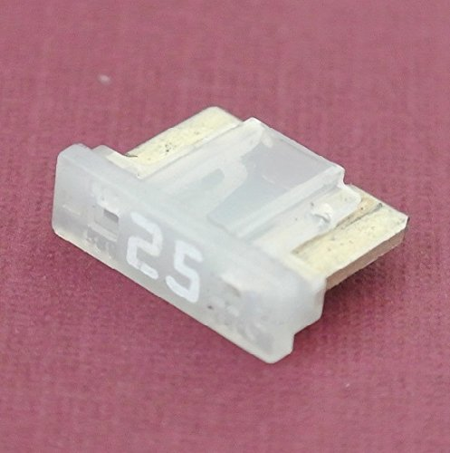 PartsTwins 25Amp Low Profile Mini Blade Fuse Pack of 5