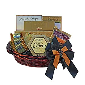Classic Gourmet Food and Snack Gift Basket, Small (Chocolate Option)