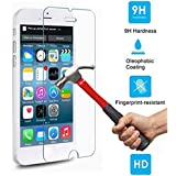 iPhone 7 Plus Screen Protector, Moona Tempered Glass 9H Hardness 2.5D Edge Bubble Free Anti-Fingerprint Scratch resistant for Apple iPhone 7 Plus (1 Pack)