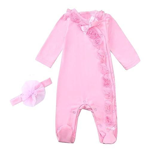 a700edc37e7f Amazon.com  SMTSMT Infant Baby Girls Fashion Clothes Long Sleeve ...