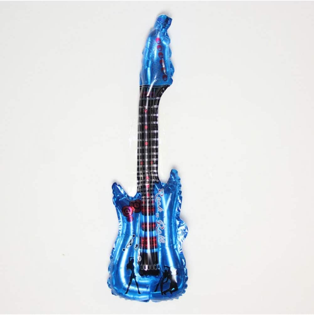 ZBZBH 1 Unid Guitarra De Dibujos Animados Globos De Papel De ...