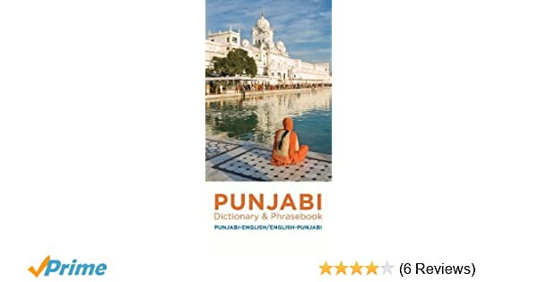 Punjabi-English/English-Punjabi Dictionary & Phrasebook
