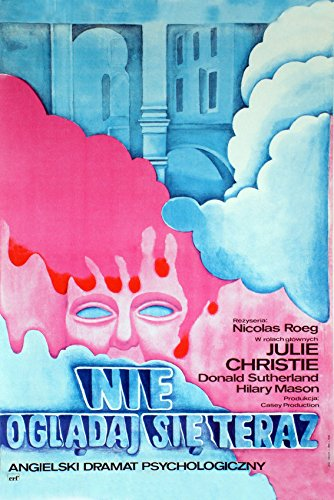 Erthstore 16x20 inch Fine Art Poster of Don't Look Now Nicolas Roeg Polish Art Julie Christie Donald Sutherland