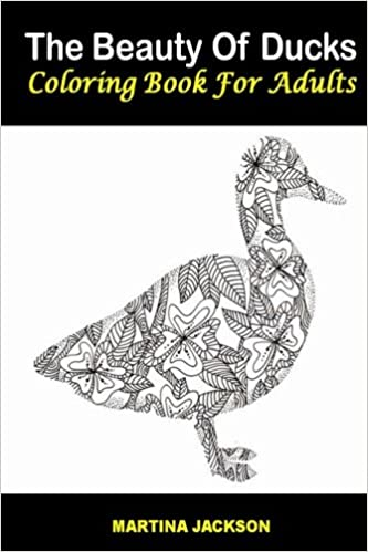 Amazon.com: The Beauty Of Ducks Coloring Book For Adults 6x9 ...