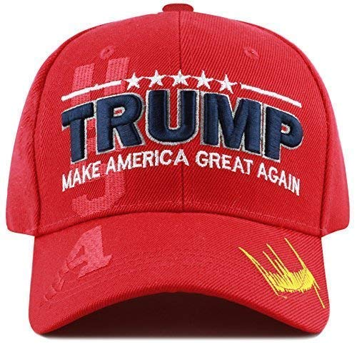 9b9237d0ed3 THE HAT DEPOT Exclusive Donald Trump Keep America Great Make America Great  Again 3D Signature