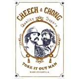 Buyartforless Cheech & Chong Toke it Out 36x24 Art Print Poster Wall Decor Made in East LA Quality Supers Marijuana Cannabis Weed Culture Comedy