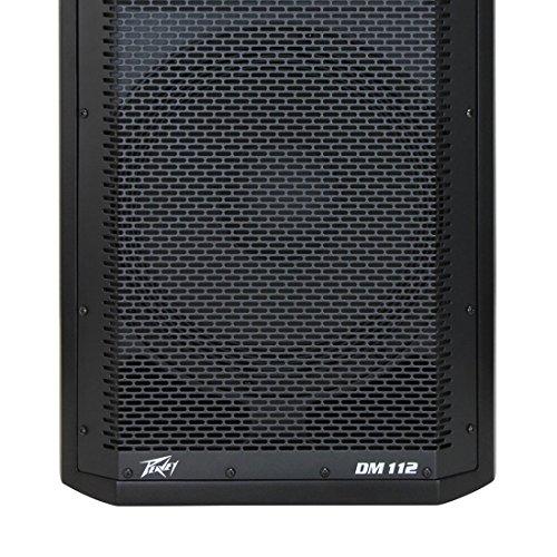 Peavey Dark Matter DM112 Pro DJ 2-Way Active 12 Inch Powered PA Speaker (2 ()