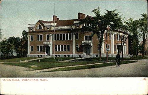 Town Hall Wrentham, Massachusetts Original Vintage ()
