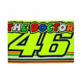 Valentino Rossi VR46 Moto GP The Doctor Stripes Flag Official 2018