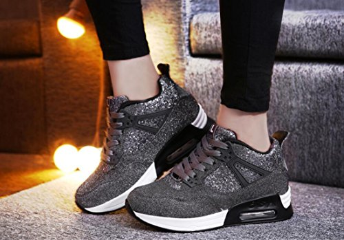 DARK para Estudiantes DANDANJIE Ocasionales de para Calzado Zapatillas antidesgaste GRAY Resistentes Deportivo Calzado Correr más Zapatos Mujer Calzado 6ax6ARwZ