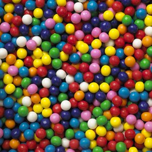 GumBalls Small Mini Assorted 2.5 Pounds 608 pieces