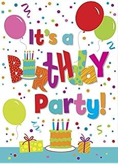 creative birthday party invitations