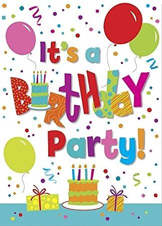 Amazoncom Jamboree Birthday Party Invitations 8ct Childrens