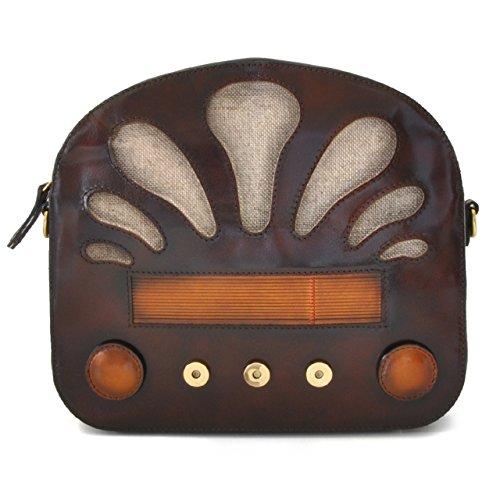 Pratesi Radio Days Santa Croce Lady Bag - SCF 436 Cuoio Santa Croce Caff