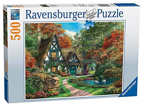 (Ravensburger Cottage Hideaway 500pc Jigsaw Puzzle)