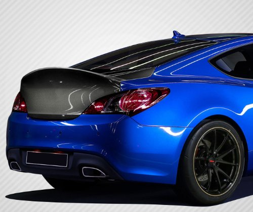 Carbon Creations Replacement for 2010-2016 Hyundai Genesis Coupe 2DR RS-1 Trunk - 1 Piece