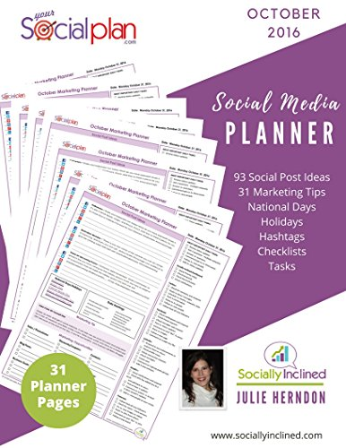 Your Social Monthly Media Planner ebook product image