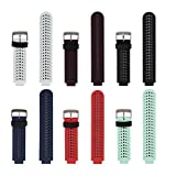 honecumi Bands Replacement for Garmin Forerunner 235 Watch Strap Accessory-Adjustable Silicone Sport Wristband/Strap/for Forerunner 220/230/620/630/735XT/235Lite-Watch Band/Strap for Men&Women