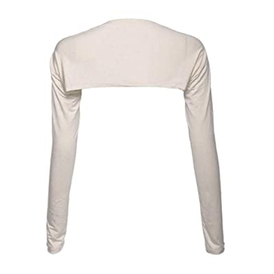 YEESAM Shrug (Beige) at Women's Clothing store