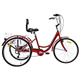 VANELL 7/1 Speed Tricycle Adult 20/24/26 in Trike