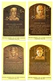 2005 Cooperstown Hall of Fame Plaque Postcards PHILADELPHIA / OAKLAND As