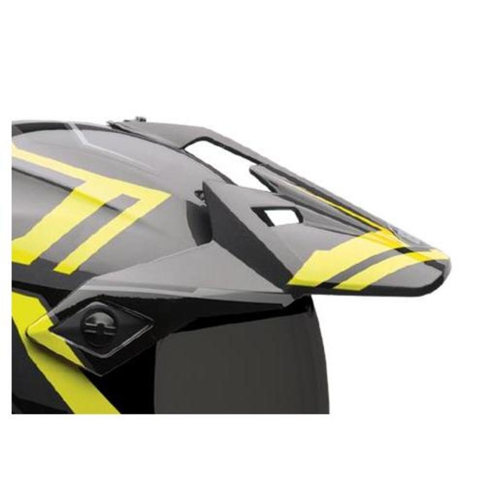 Bell Powersports MX-9 Adventure Replacement Helmet Visor (Barricade Matte Hi-Viz)