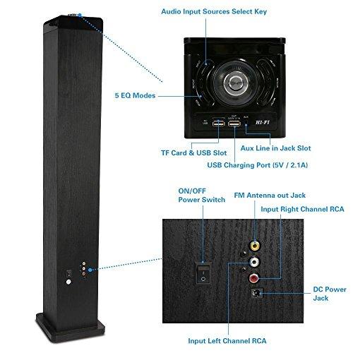 Buy Tower Speaker, Wireless Tower Speaker for TV
