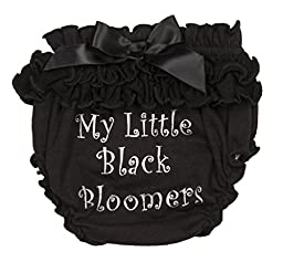 Ganz baby Girl My First Little Black Bloomers (0-12m)