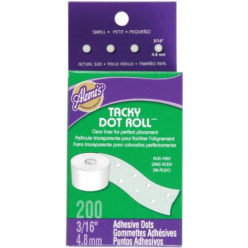 Aleene's Tacky Dot Roll-Small Dot Roll 200ct.