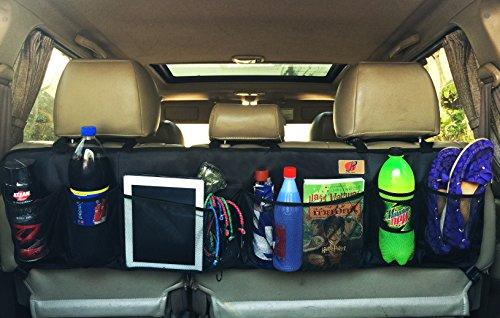 Car Trunk Organizer by P&F | Large Collapsible Cargo Net | Backseat Storage for CRV | Prius | Pickup | Mini Van ()