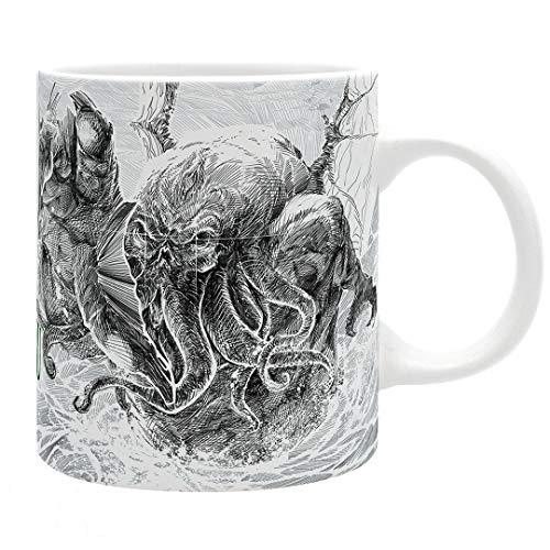 ABYstyle Cthulhu - Cthulhu Attacks Mug, 11 oz. (Cult Classic Icon)