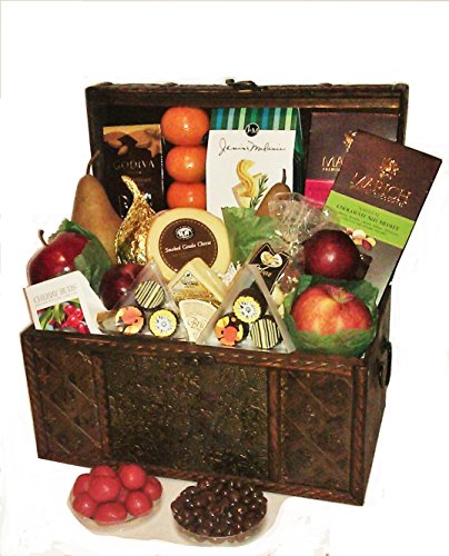 Gourmet & Fruit Treasures by Goldspan Gift Baskets