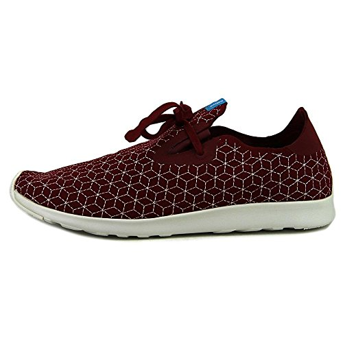 Fashion Cavalier Red Native Unisex Shell Embroidery Boxes White Sneaker Apollo Moc tXTgw