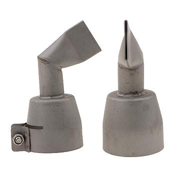 Sharplace 2x Boquilla Plana 20mm 90 Grado para Bomba de Soldadura de Plástico Aire Caliente: Amazon.es: Bricolaje y herramientas