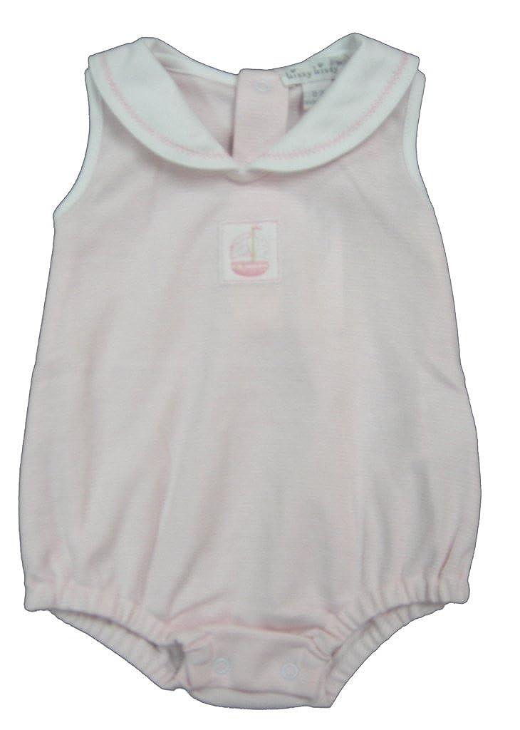 満点の Kissy Kissy Kissy baby-girls Months Infant Sailor 's B01MXHNJ6X Delightストライプバブルwith Collar B01MXHNJ6X ホワイトとピンク 9 Months 9 Months|ホワイトとピンク, ミナノマチ:18384f72 --- arianechie.dominiotemporario.com