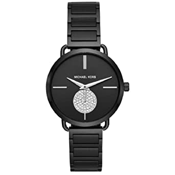 e87b047aa89d Amazon.com  Michael Kors Women s Portia Black One Size  Michael Kors ...