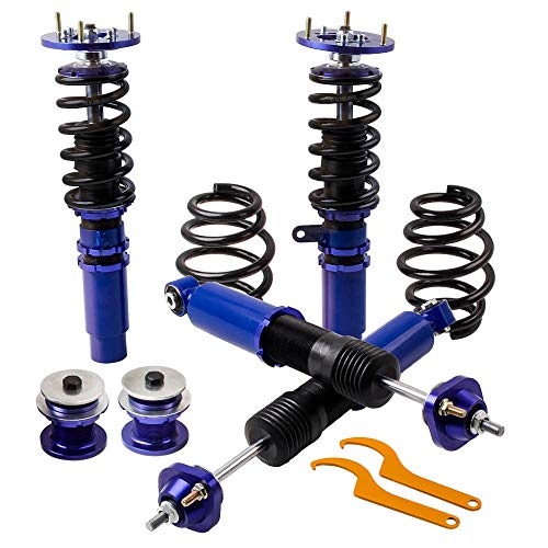 (Parts Height Adjustable Coilovers Suspension for BMW E46 3 Series 320 325 330 328 M3 323I 323Ci 330I 01-05 Shock Absorber Damper)